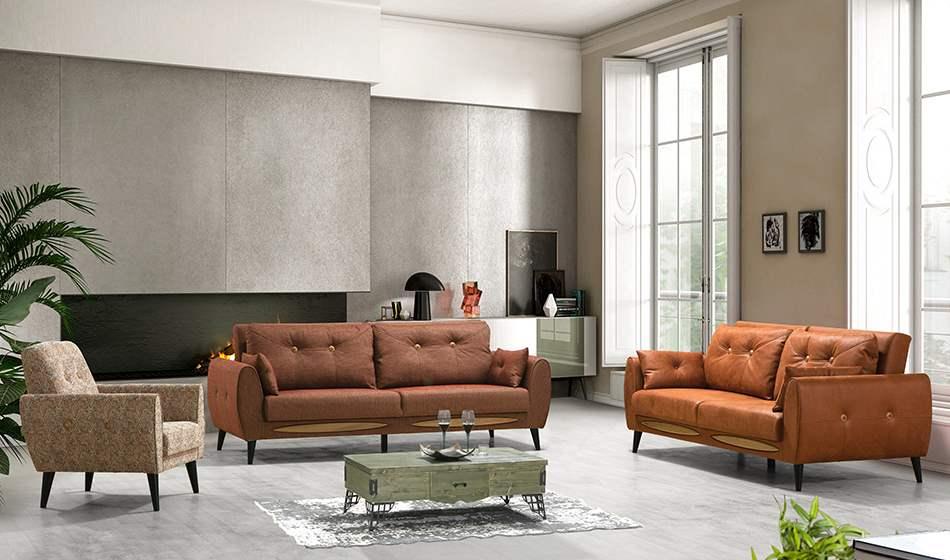 inegöl mobilya Stil Koltuk Takımı 3+3+1