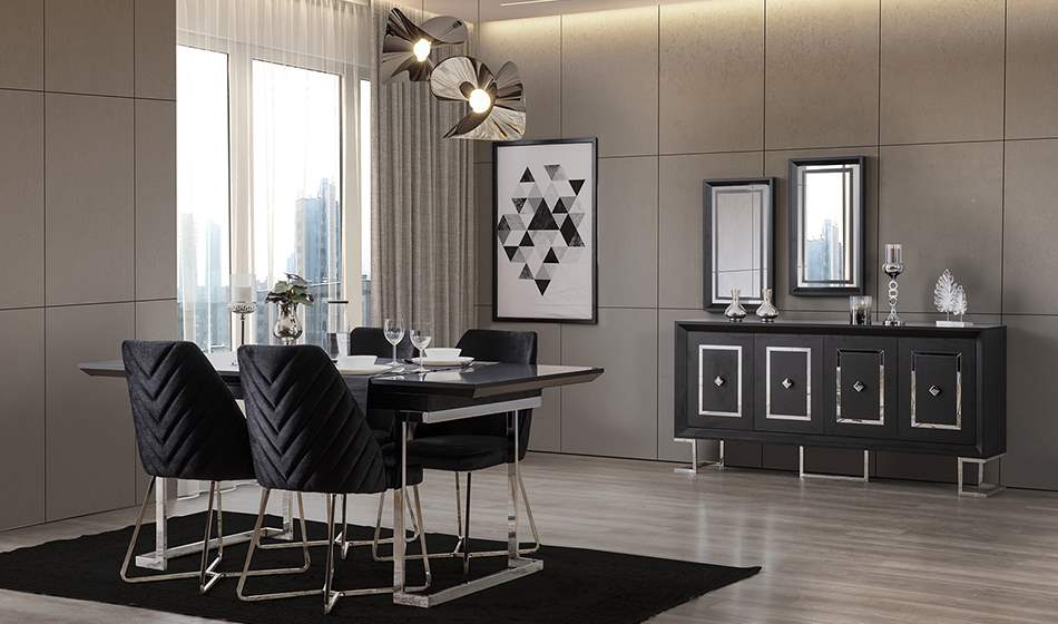 inegöl mobilya Atlantis Yaşam Odası (Silver)