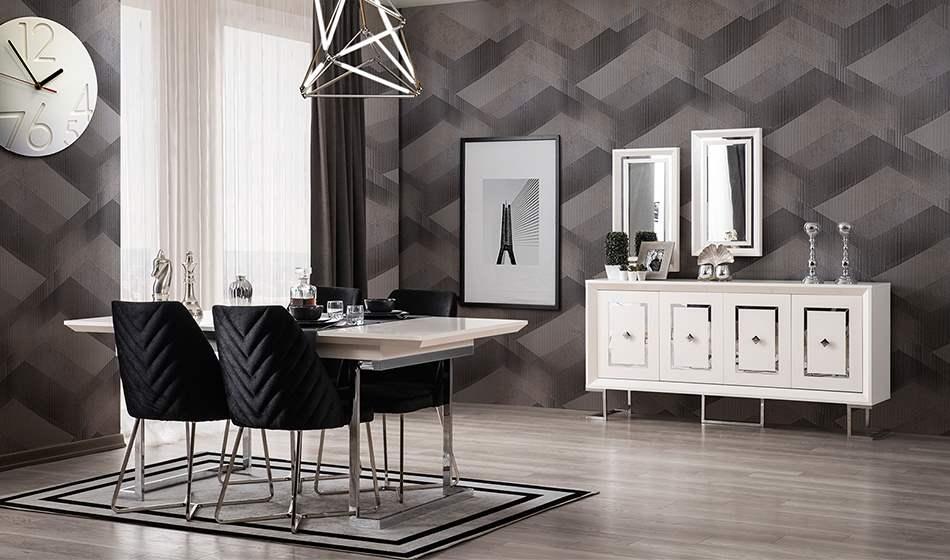 inegöl mobilya Berrak Yaşam Odası (Silver)