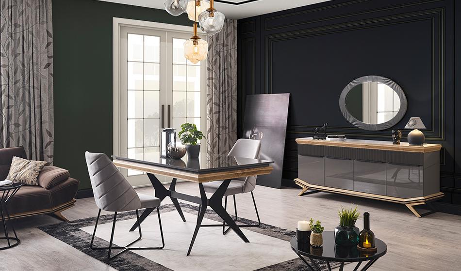 inegöl mobilya Grand Yaşam Odası