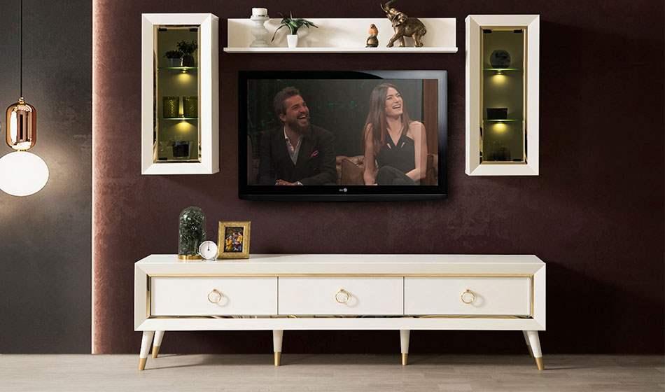 inegöl mobilya İnci Duvar Ünitesi