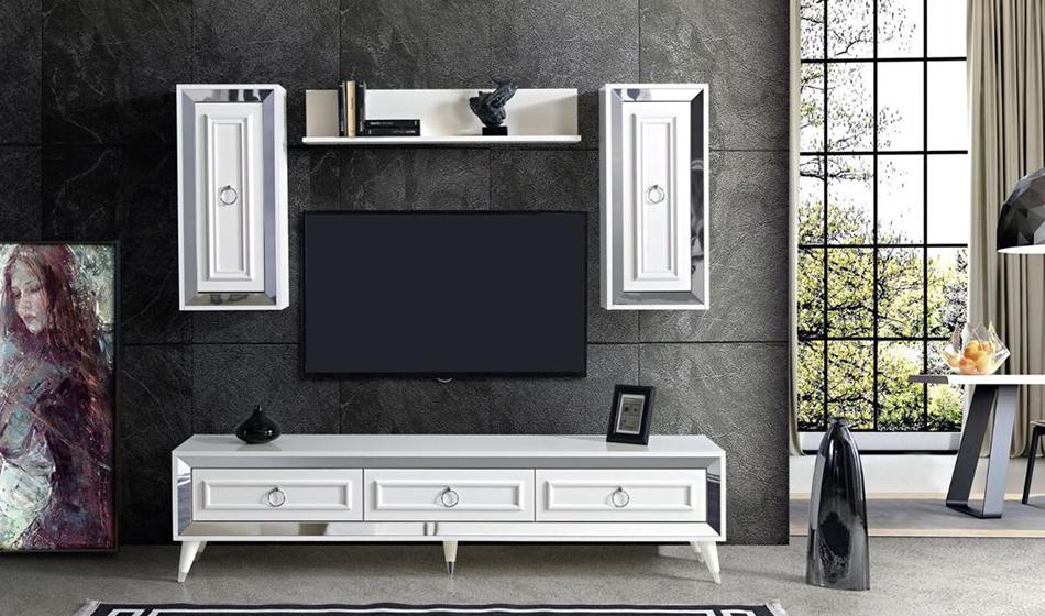 inegöl mobilya Granit Duvar Ünitesi