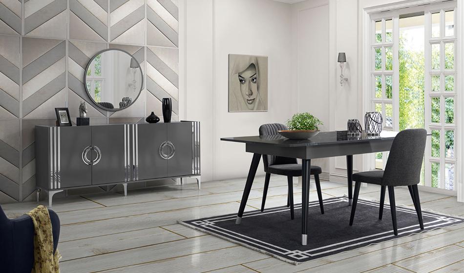 inegöl mobilya Alis Yemek Odası Takımı