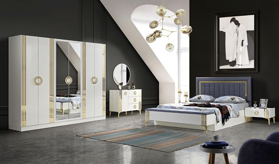 inegöl mobilya Rose Yatak Odası Takımı