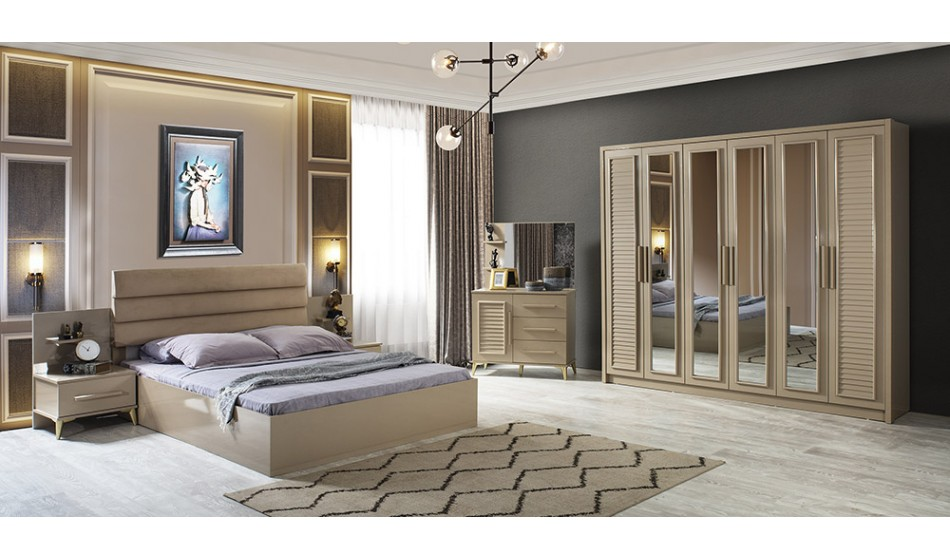 inegöl mobilya Irmak Yatak Odası Takımı