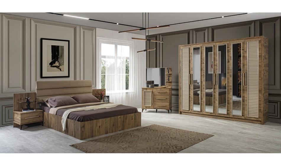 inegöl mobilya Nehir Yatak Odası Takımı