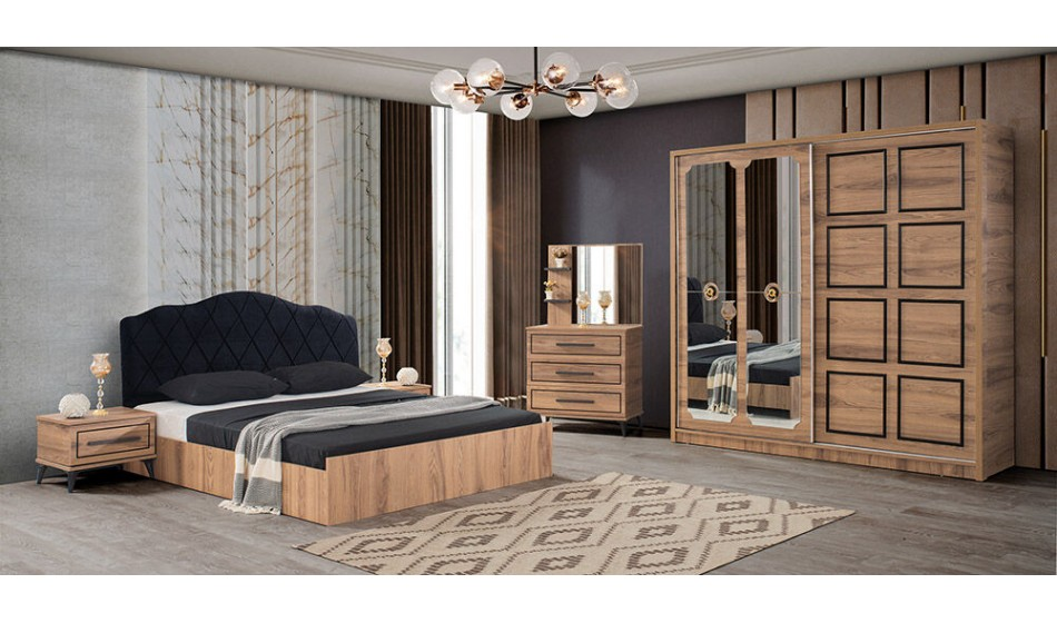 inegöl mobilya Aspendos Yatak Odası Takımı