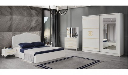 Chanel Yatak Odası Takımı