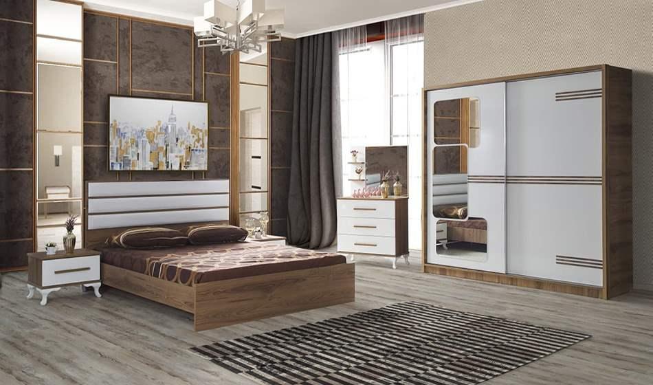 inegöl mobilya Sahil Yatak Odası Takımı