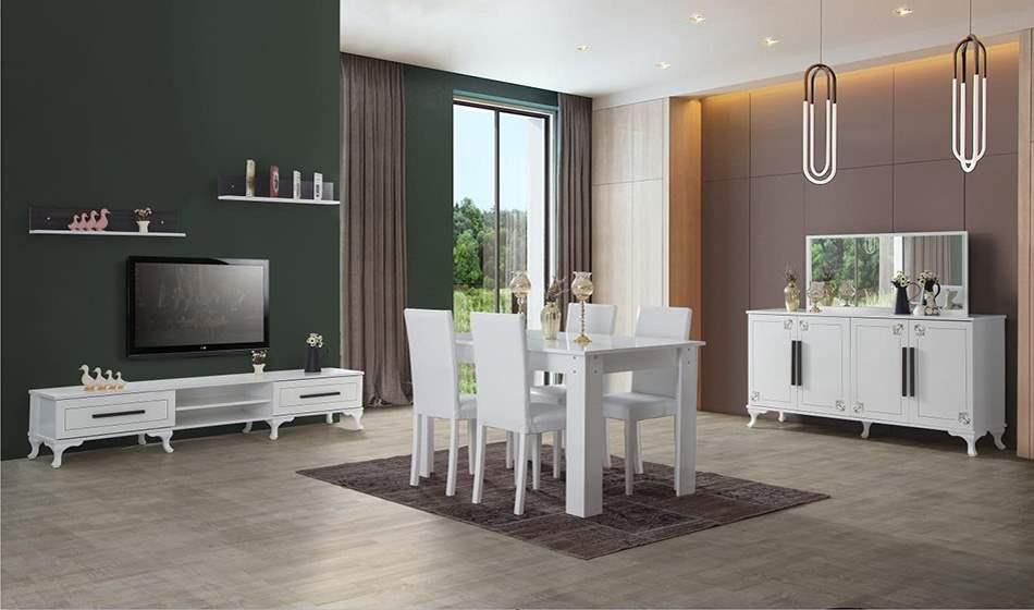 inegöl mobilya Irmak Yemek Odası Takımı