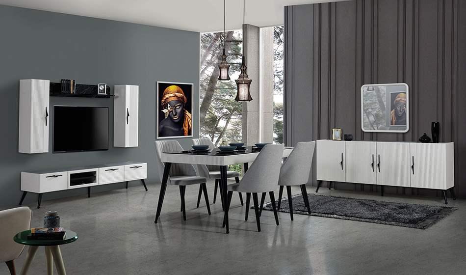 inegöl mobilya Reina Yemek Odası Takımı