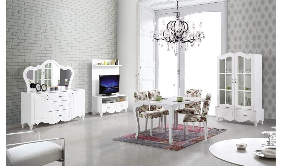 inegöl mobilya Karaca Yemek Odası Takımı