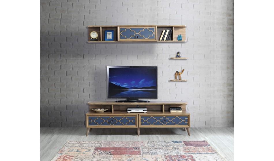 inegöl mobilya Floria Duvar Ünitesi