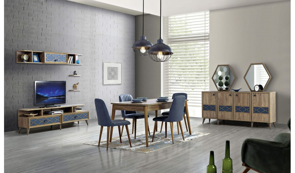 inegöl mobilya Floria Yemek Odası Takımı